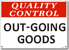Outgoing Goods Quality Assurance