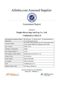 Supplier Assessment Report-Ningbo Riway Imp And Exp Co., Ltd