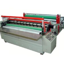 Dividing perforating rewinding machine