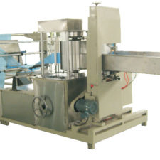 nonwoven folding machine