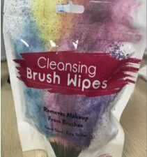 Brush Clean Wet Wipes